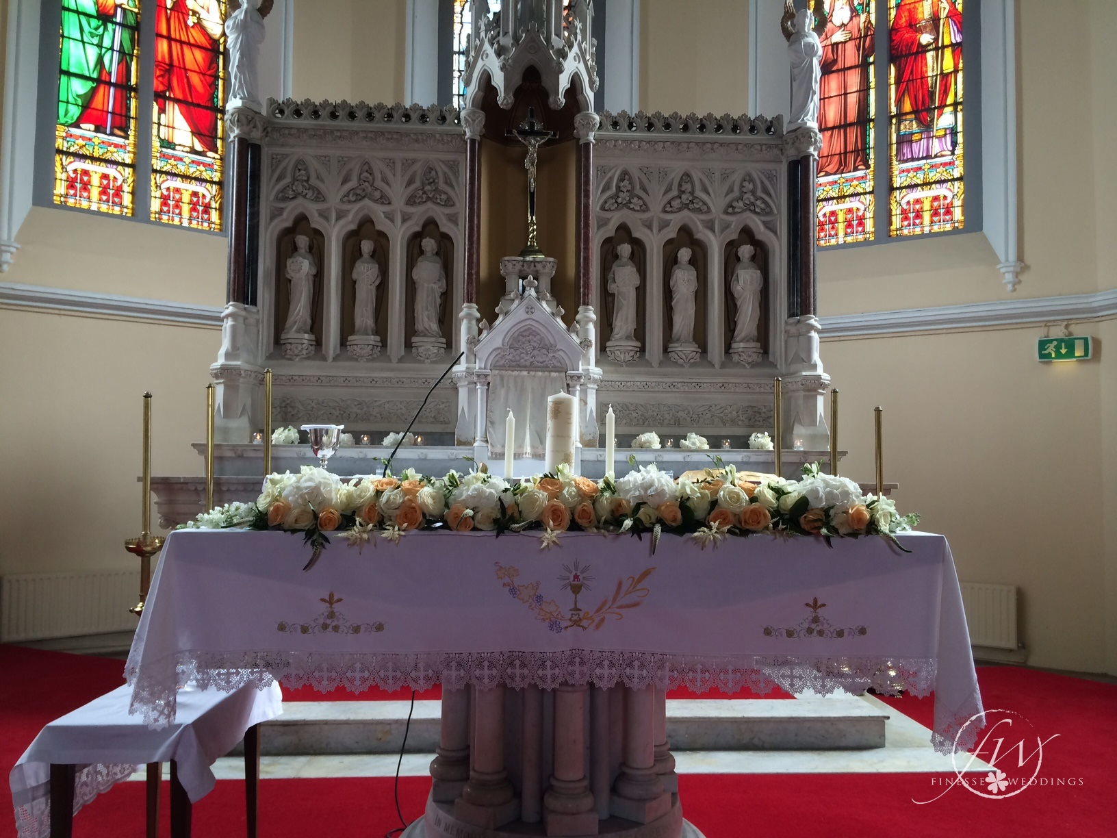 Monasterevin Church alter arrangement