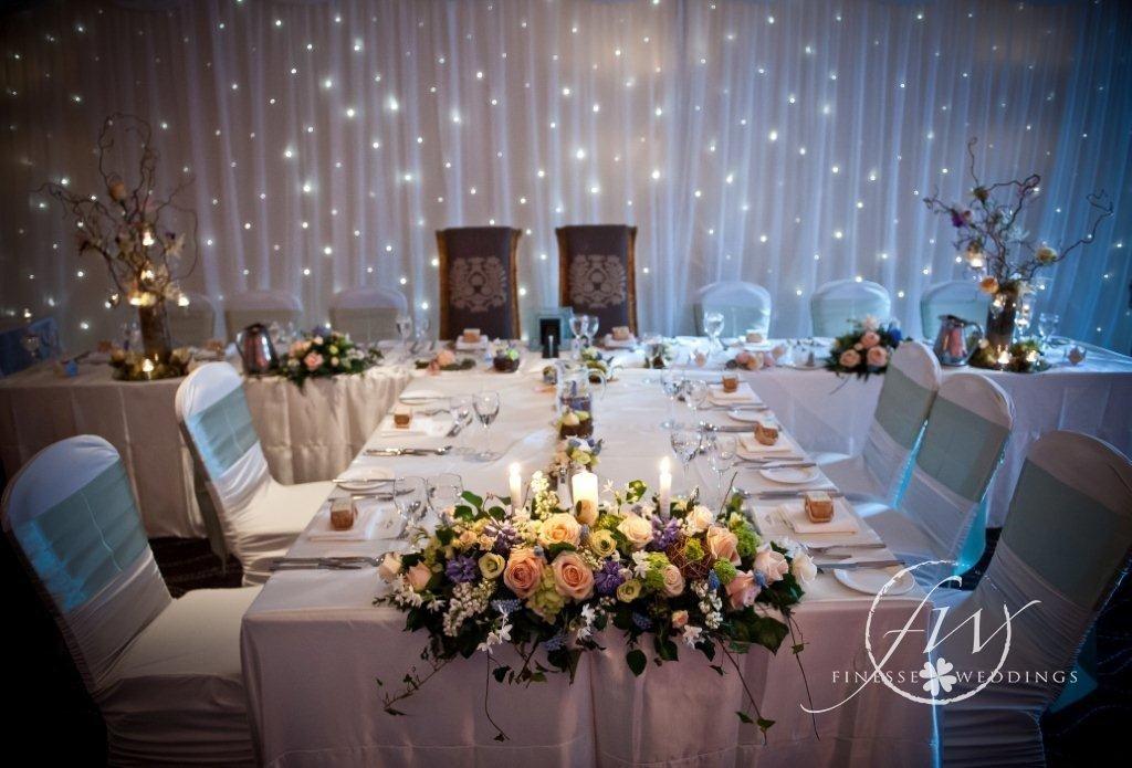 Fairy Light Backdrops Door Drapes And Wedding Venue Drapping