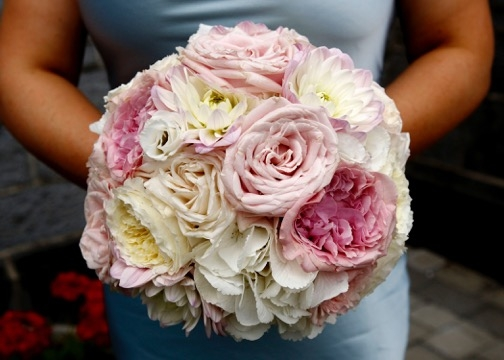 Bridesmaid's bouquet summer 2016