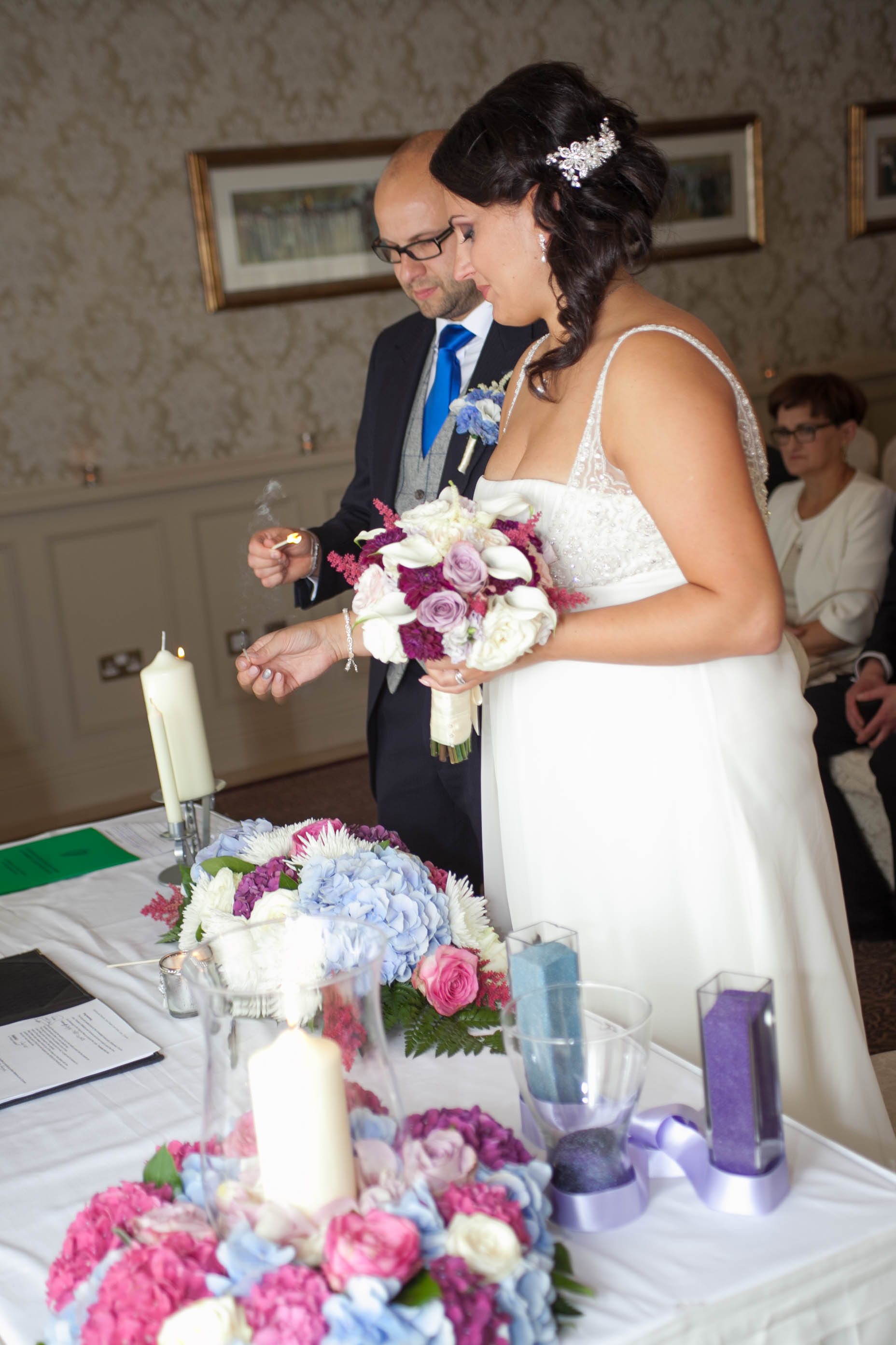 Wedding flowers by Finesse Weddings