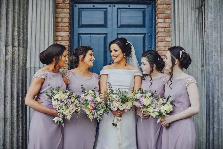 Treas bridesmaids