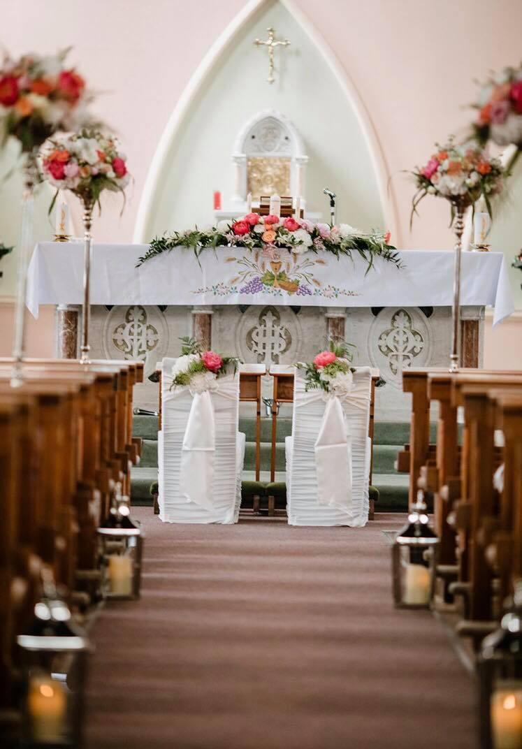 church wedding ceremony decor