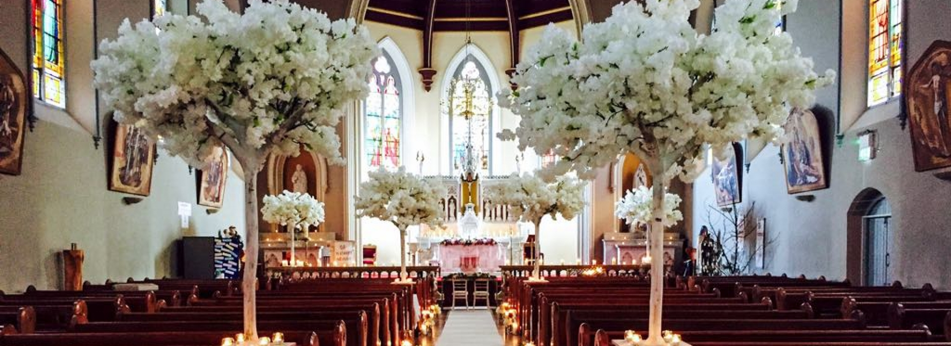 Finesse weddings wedding venue and ceremony decor and floral service white cherry blossom monostrevin junglespirit Choice Image