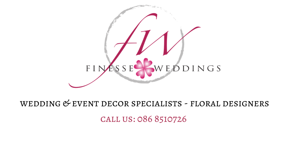 Irish wedding decor hire and floral service